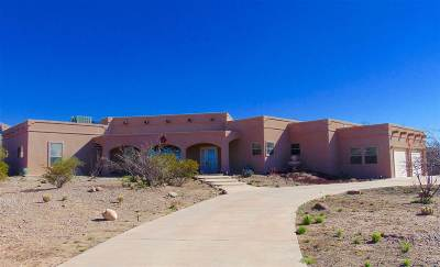 Alamogordo Single Family Home Under Contract: 8 Canyon Drw