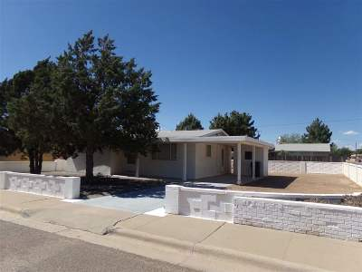 Alamogordo Single Family Home Uc Taking Backup Offers: 1113 Greenwood Ln