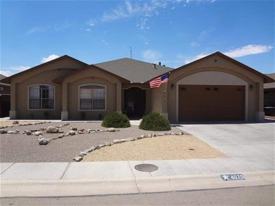 Alamogordo Single Family Home For Sale: 4070 Wood Lp