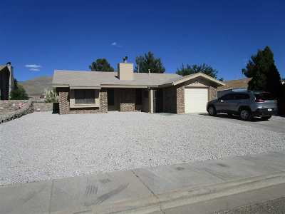 Alamogordo Single Family Home For Sale: 3447 Sequoia Lp