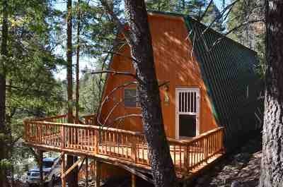 Cloudcroft Single Family Home For Sale: 7 Spruce Trl