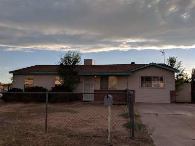 Alamogordo Single Family Home Under Contract: 406 Saturn Cir