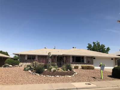 Alamogordo Single Family Home For Sale: 1605 Crescent Dr