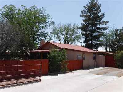 Tularosa Single Family Home For Sale: 807 Posey Ln