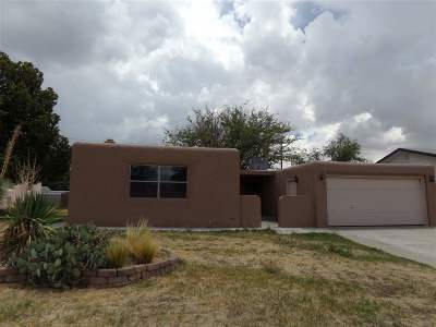 Alamogordo Single Family Home For Sale: 1808 Snow Dr
