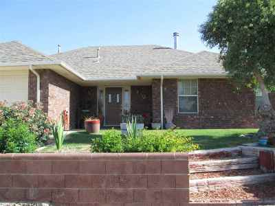Alamogordo Single Family Home Under Contract: 733 Caprock Ct