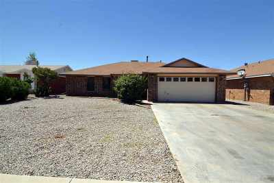 Alamogordo Single Family Home For Sale: 1461 Columbia Av