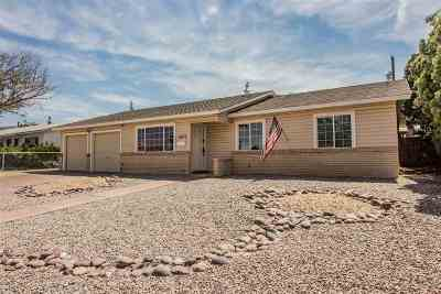 Alamogordo Single Family Home For Sale: 1807 Lamar Cir