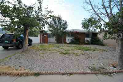 Alamogordo NM Single Family Home For Sale: $99,900