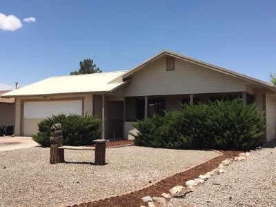 Alamogordo Single Family Home Uc W/Contingency: 1426 Discovery Av