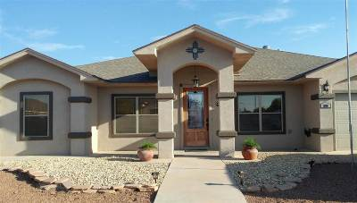 Alamogordo Single Family Home For Sale: 286 Bosque