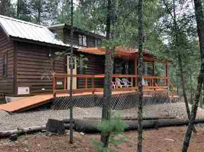 Cloudcroft Single Family Home Under Contract: 14 Pine Ridge Pl