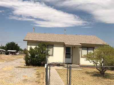 Alamogordo NM Single Family Home For Sale: $56,000
