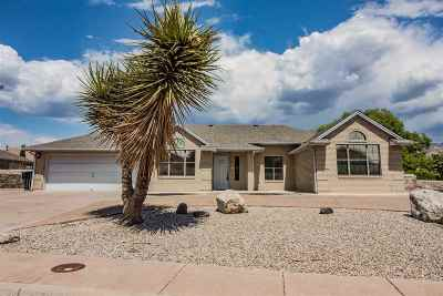 Alamogordo Single Family Home For Sale: 2376 Cherry Hills Lp