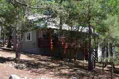 Cloudcroft Single Family Home For Sale: 83 Aspen