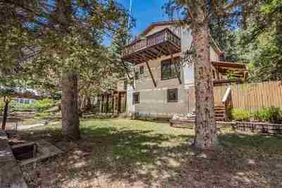 Cloudcroft Single Family Home For Sale: 600 Chautauqua Canyon Blvd
