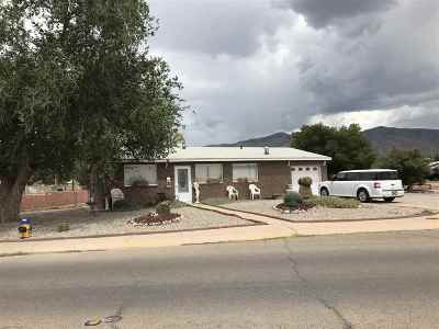 Alamogordo Single Family Home For Sale: 1401 Sixteenth St