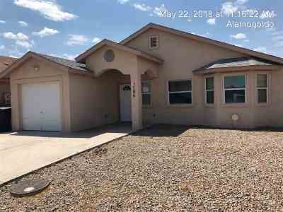 Alamogordo Single Family Home Under Contract: 1786 Margarita Lp