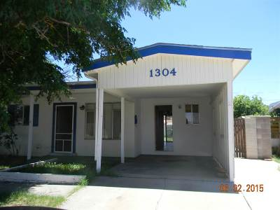 Alamogordo Single Family Home For Sale: 1304 Hendrix Av