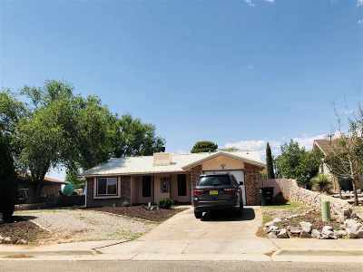 Alamogordo Single Family Home Under Contract: 325 Glacier Dr