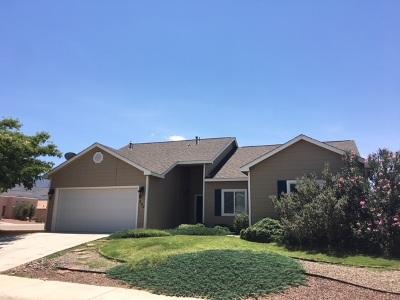 Alamogordo Single Family Home For Sale: 292 Burnage Ln