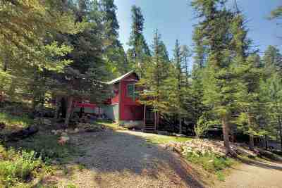 Cloudcroft Single Family Home Under Contract: 196 Spring St