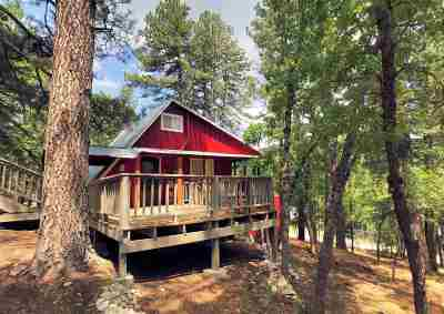 Cloudcroft Single Family Home Under Contract: 16 Hopi