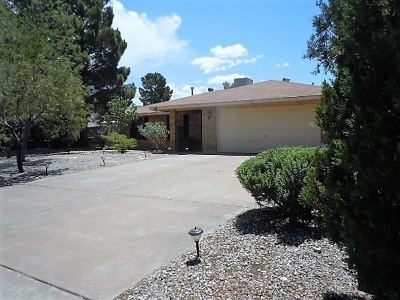 Alamogordo Single Family Home For Sale: 2212 Desert Pine