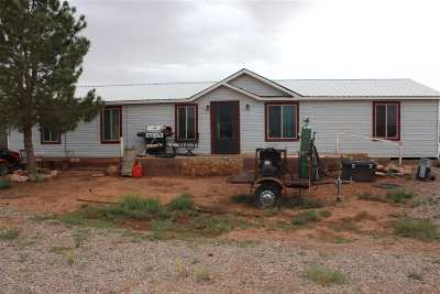 Tularosa Single Family Home For Sale: 14 Money
