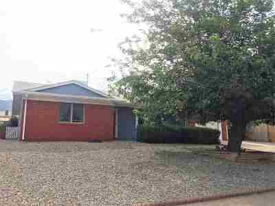 Alamogordo Single Family Home For Sale: 1810 Crescent Dr