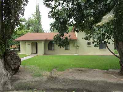 Tularosa Single Family Home For Sale: 1101 5th St