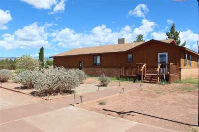 Tularosa Single Family Home For Sale: 69 Moon Valley Rd