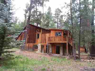 Cloudcroft Single Family Home Under Contract: 58 Big Bend Loop