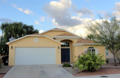 Alamogordo NM Single Family Home For Sale: $212,500