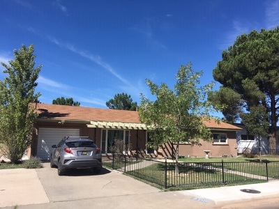 Alamogordo Single Family Home For Sale: 2329 Apache Ln