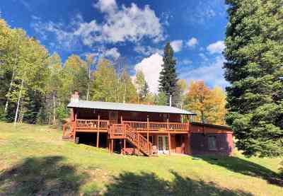 Cloudcroft Single Family Home Under Contract: 14 Deer Dr