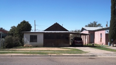Alamogordo NM Single Family Home For Sale: $18,000