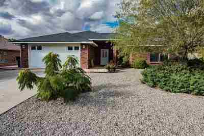 Alamogordo Single Family Home Under Contract: 2214 Camino De Suenos