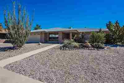 Alamogordo NM Single Family Home Uc W/Contingency: $175,000