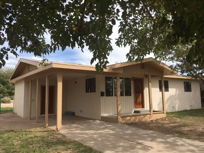 Alamogordo NM Single Family Home For Sale: $62,000