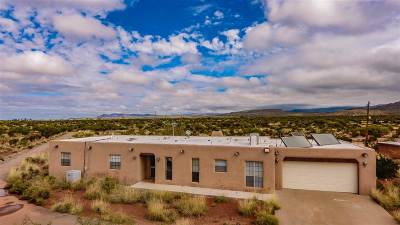 Tularosa Single Family Home Under Contract: 104 Rattlesnake Rd