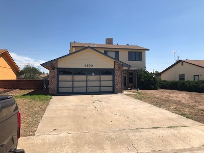 Alamogordo NM Single Family Home For Sale: $104,900