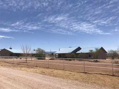 Tularosa Single Family Home Uc W/Contingency: 10 Race Track Circle