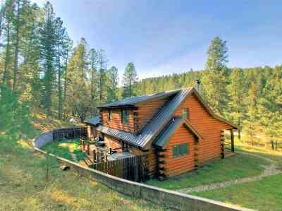 Cloudcroft Single Family Home For Sale: 63 Sullivan Canyon Rd