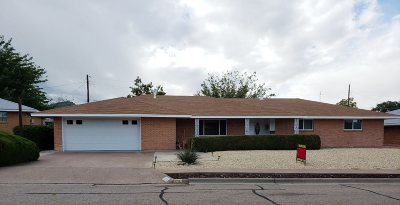 Alamogordo Single Family Home For Sale: 2316 Union Av