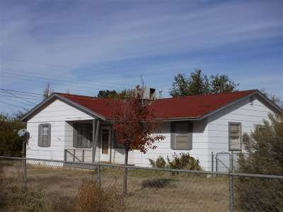 Tularosa Single Family Home For Sale: 1009 Old Mescalero Rd