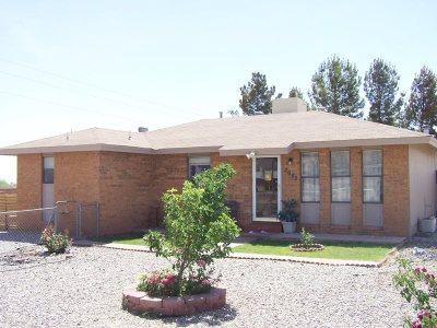 Alamogordo Single Family Home For Sale: 2682 Walker Av