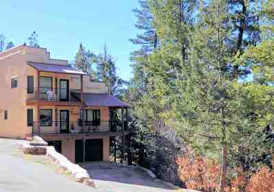 Cloudcroft Single Family Home For Sale: 5 Sleepy Bear Loop