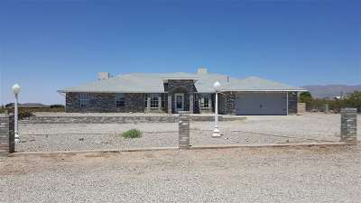 Alamogordo Single Family Home For Sale: 68c S Florida Av