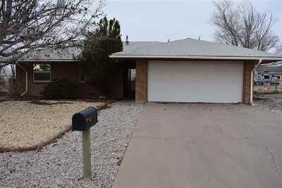 Alamogordo Single Family Home Under Contract: 1317 Canal St